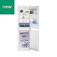 Beko ICQFDB155 White Integrated Fridge freezer