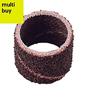 Dremel 60 grit Sanding roll (L)100mm (W)50mm (Dia)13mm, Pack of 6