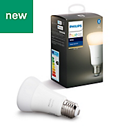 Philips Hue E27 LED Warm white Classic Dimmable Light bulb