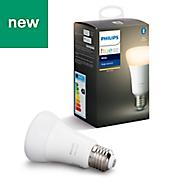 Philips Hue E27 LED Warm white Classic Dimmable Light bulb