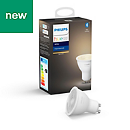 Philips Hue GU10 LED Warm white Dimmable Light bulb