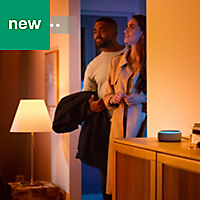 Philips Hue E27 LED Colour changing Classic Dimmable Light bulb