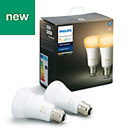 Philips Hue E27 LED Cool white & warm white Classic Dimmable Smart Light bulb