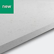 20mm Matt Chamomile Stone effect Acrylic Square edge Kitchen Worktop, (L)2200mm
