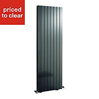 Ximax Vertirad Duplex Vertical/horizontal Designer radiator Anthracite (H)1800 mm (W)445 mm