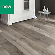 Masterfloor Uptown Grey Oak effect Laminate flooring, 1.76m²