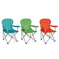 Molloy Multicolour Metal Camping Chair