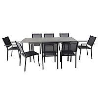 Moorea Metal Extendable Table