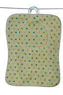 Multicolour Polka-dot Peg bag (W)280mm