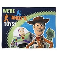 Multicolour Toy Story Fleece Blanket