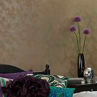 Muriva Foil texture Metallic effect Textured Wallpaper