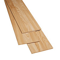 Natural Gloss Oak effect Laminate Flooring Sample