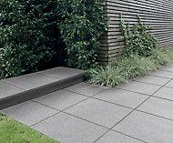 Natural granite Silver grey Sett (L)100mm (W)50mm
