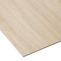 Natural Hardwood Plywood Board (L)1.22m (W)0.61m (T)3.6mm