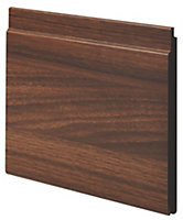 Natural Medium-density fibreboard (MDF) Cladding (W)144mm (T)12mm, Pack of 2