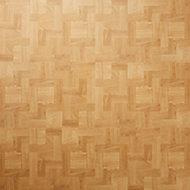 Natural Parquet Parquet effect Self adhesive Vinyl tile, Pack of 13