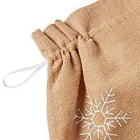 Natural Snowflake Christmas sack