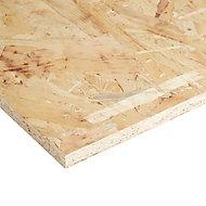 Natural Softwood OSB 3 Board (L)0.81m (W)0.41m (T)15mm