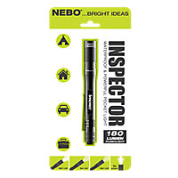 Nebo Inspector Battery-powered Non-rechargeable LED Task light 1.5V 180lm