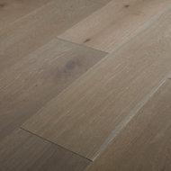 Nephin Grey Oak Real wood top layer Flooring Sample