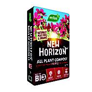 New Horizon All plant Peat-free Multi-purpose Compost 50L