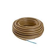 Nexans Brown 2 core Multi-core cable 10m