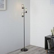 Nicholas Black chrome Floor light