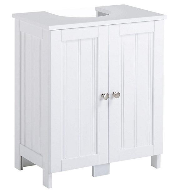 Nicolina White Under Basin Unit Diy, Under The Sink Cabinet