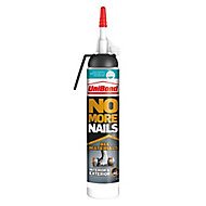 No More Nails Solvent-free Polymer-based White All materials Grab adhesive 220ml