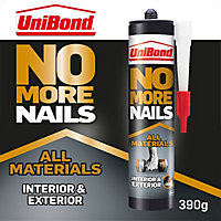 No More Nails Solvent-free Polymer-based White All materials Grab adhesive 280ml