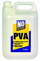 No Nonsense Off white PVA adhesive 5L