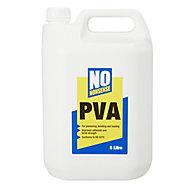 No Nonsense White PVA adhesive 5L