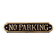 No parking Parking sign, (H)50mm (W)240mm