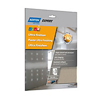 Norton Extra fine Hand sanding sheets, Pack of