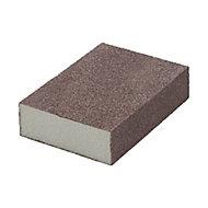 Norton Fine/Medium Sanding sponge (L)100mm (W)68mm