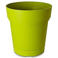 Nurgul Green Plastic Round Plant pot (Dia)58cm