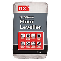 NX 3-50mm Floor levelling compound, 20kg Bag
