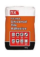 NX Flexible Universal Ready mixed Stone white Tile Adhesive, 10kg