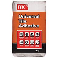 NX Flexible Universal Ready mixed Stone white Tile Adhesive, 20kg