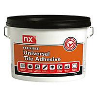NX Universal Stone white Floor & wall Tile Adhesive, 15kg