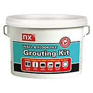 NX White Wall & floor Grout, 5kg