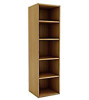 Oak effect Shelf (D)450mm