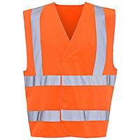 Orange Hi-vis waistcoat Large