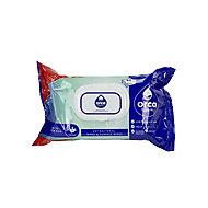 Orca Hygiene Fragranced Antibacterial wipes, Pack of 90
