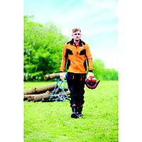 "Oregon Yukon Black & orange Chainsaw trousers (W)44"" (L)32"""