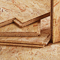 OSB 3 Tongue & groove Floorboard (L)1.22m (W)325mm (T)15mm, Pack of 3