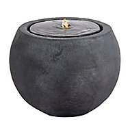 Outdoor Living UK Concrete style ball Water feature