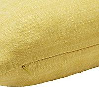 Pahea Chenille Yellow Cushion