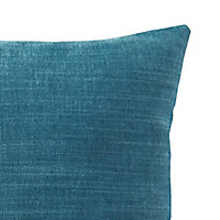 Pahea Plain Blue Cushion