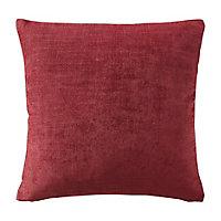 Pahea Plain Ruby Cushion